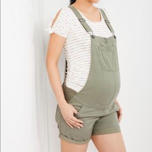 Maternity Overalls - Olive/Sage - Never Worn